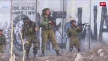 Link öffnet eine Lightbox. Video Erneute Unruhen im Westjordanland abspielen