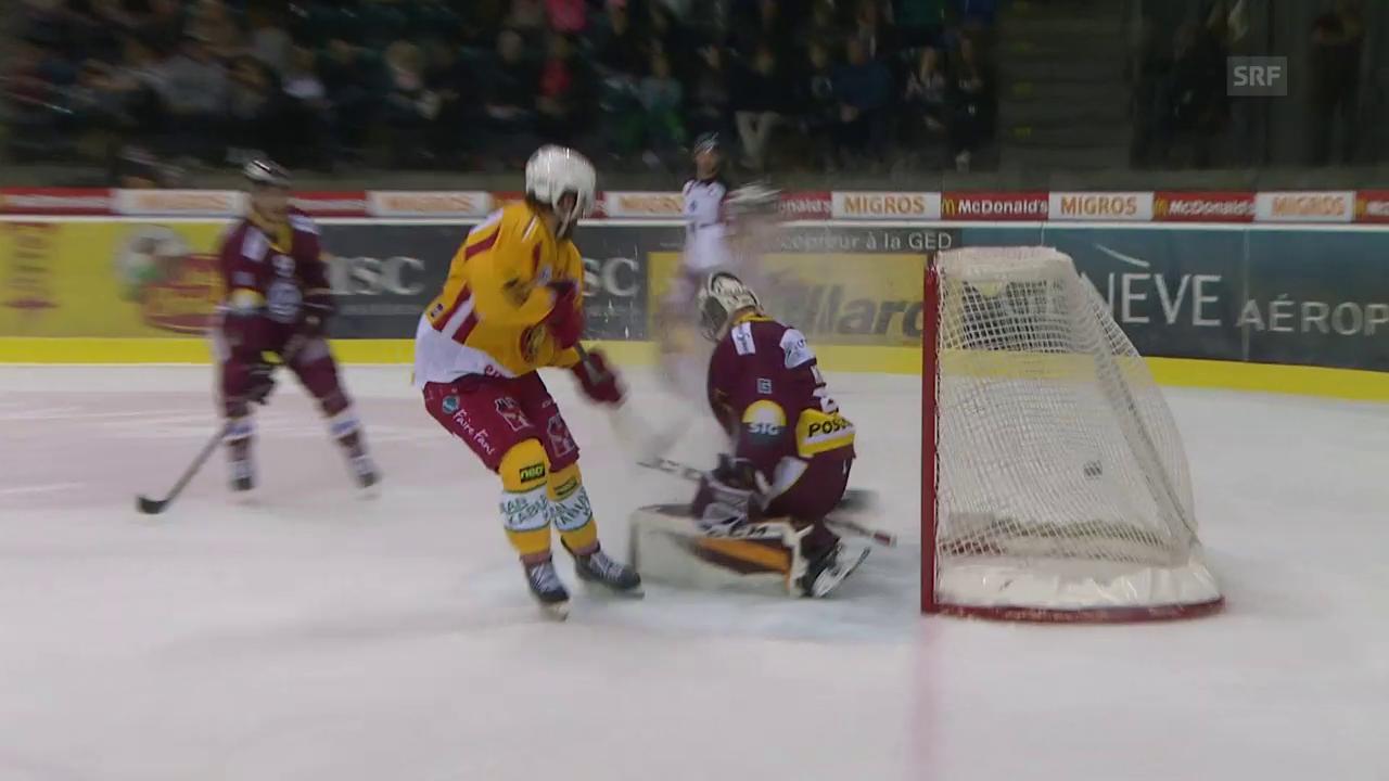 Langnau siegt in der Verlängerung gegen Genf mit 5:4