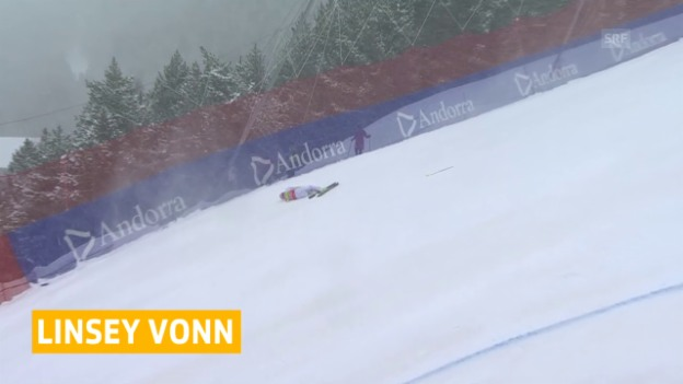 Video «Vonn fährt in diesem Winter kein Rennen mehr» abspielen
