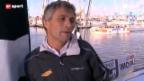 Video «Segeln: Bernard Stamm an der Vendée Globe» abspielen