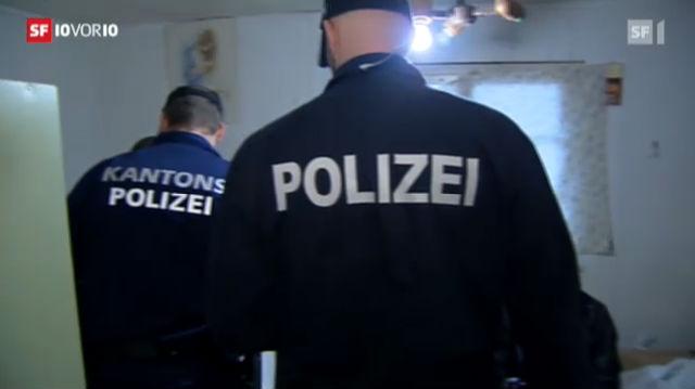 Vermehrte Razzien im Aargau