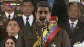 Video «Venezuela: Machtkampf, Asylgesuche: Rückgang, Usain Bolt hört auf» abspielen