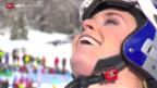 Video «Ski alpin: Weltcup, Abfahrt der Frauen in Cortina» abspielen