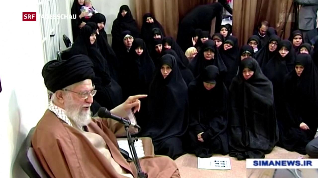 Khamenei zu den Protesten im Iran