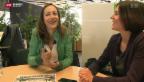 Video ««Ännet em Röstigrabe» Hinter den Kulissen mit Claudia Weber» abspielen
