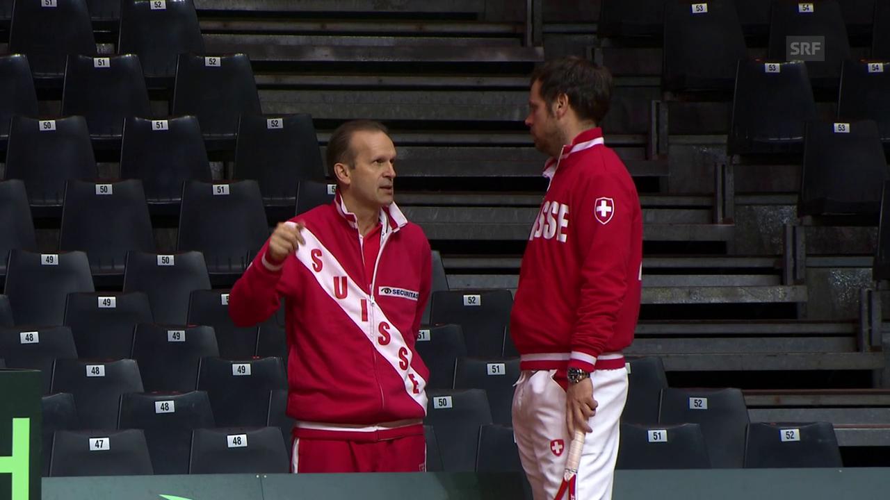 Er hält Federers Körper in Schuss: Physiotherapeut Troxler