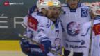 Video «Eishockey: Playoff-Halbfinal, Genf - ZSC Lions» abspielen
