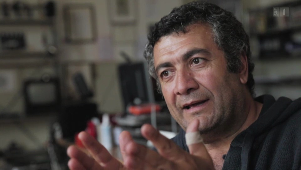 Wahlschweizer: Der kurdische Filmemacher Mano Khalil