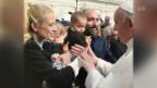 Video «Christa Rigozzi: Treffen mit dem Papst» abspielen
