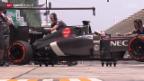 Video «Formel 1: Sauber-Boliden zu schwer» abspielen