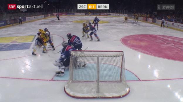 Video «Eishockey: NLA, ZSC Lions - Bern» abspielen