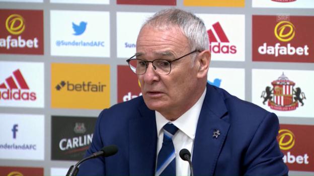 Video «Ranieri: «Schwierig zu beschreiben, was ich fühle» (Quelle: SNTV)» abspielen
