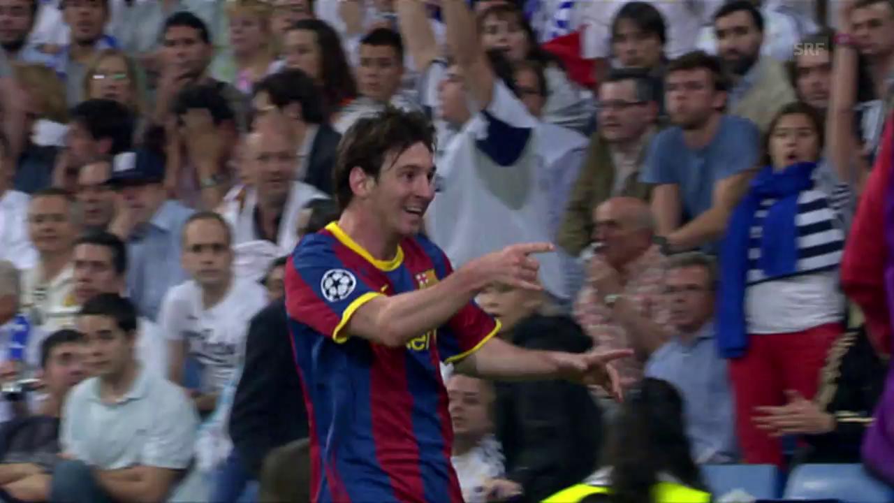 2011: Dribbling gegen Real