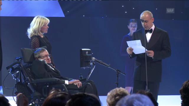 Preisverleihung des Fundamental Physics Prize in Genf («Einstein», 21.3.2013)