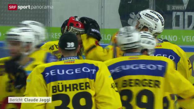 Video «Eishockey: Lugano - Bern» abspielen