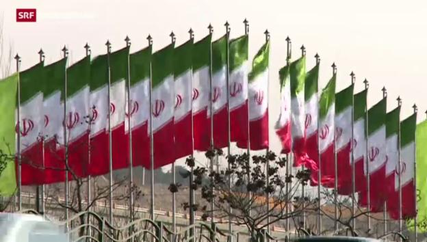 Video «EU und USA lockern Sanktionen gegen Iran» abspielen