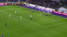 Video «St. Etienne dreht Partie gegen Anderlecht» abspielen