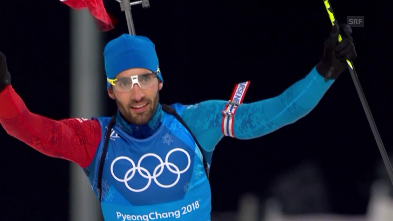 Frankreich triumphiert in der Mixed-Staffel
