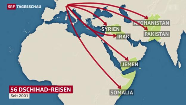 Video «Task Force gegen Schweizer IS-Reisen» abspielen