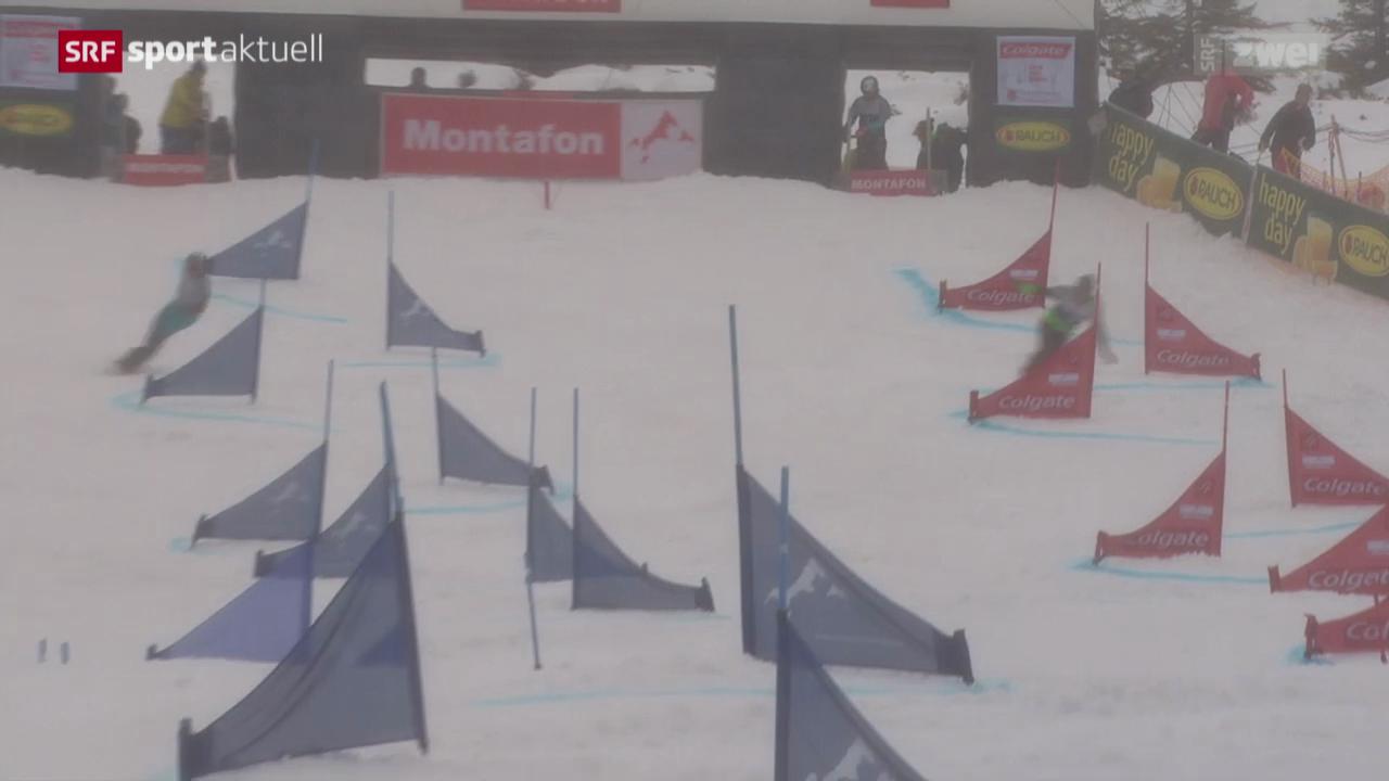Snowboard alpin: Parallelslalom in Schruns