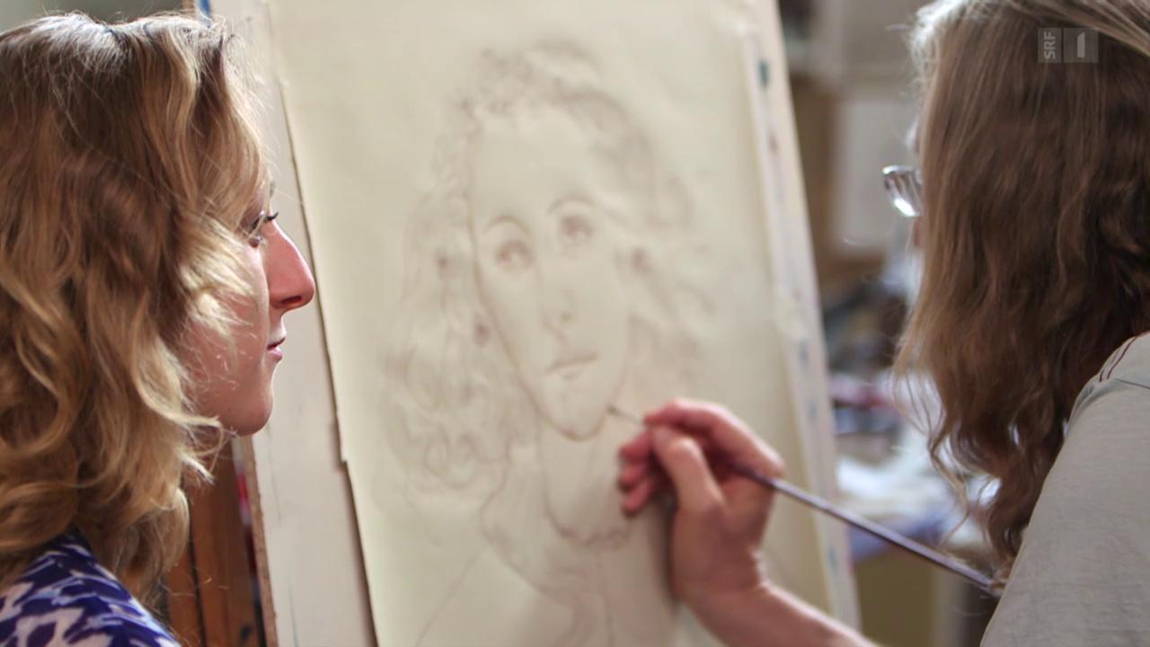 Der Meisterfälscher: Wolfgang Beltracchi malt Tochter Franziska