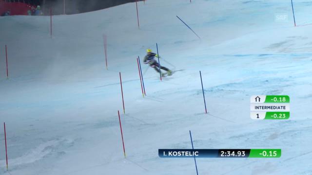 Super-Kombi: Slalom Ivica Kostelic