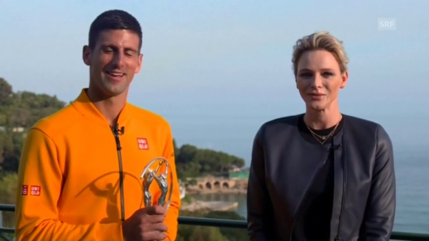 Video «Allgemeines: Djokovic und Dibaba geehrt» abspielen