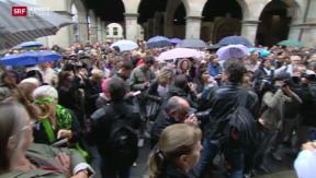 Video «Marche blanche in Genf » abspielen