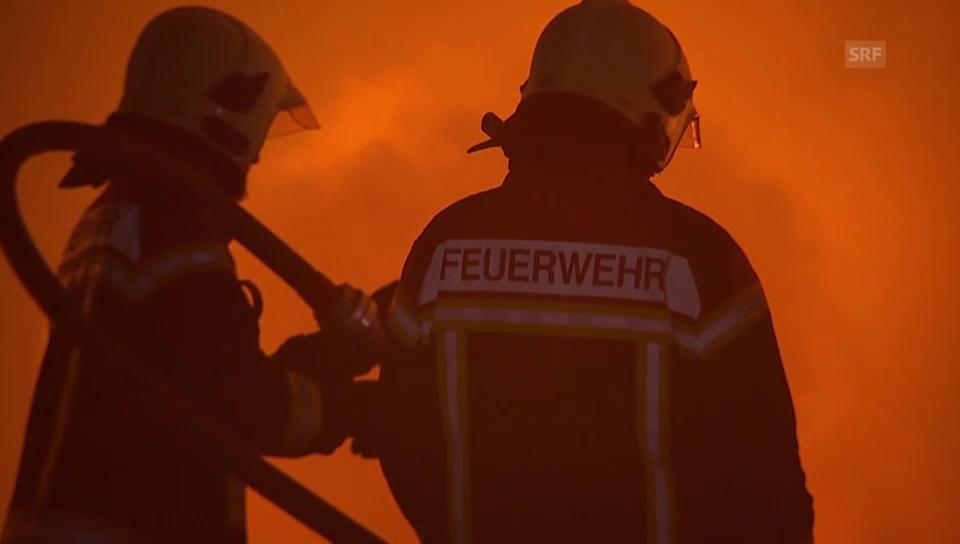 Brand in Balsthal (unkommentiert)