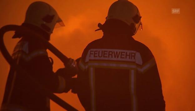 Laschar ir video «Brand in Balsthal (unkommentiert)»
