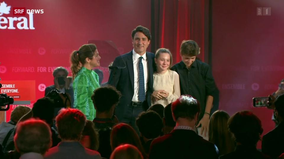 Bittersüsser Sieg für Kanadas Premier Justin Trudeau