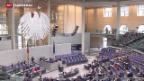 Video «Gewerbsmässige Sterbehilfe wird in Deutschland verboten» abspielen