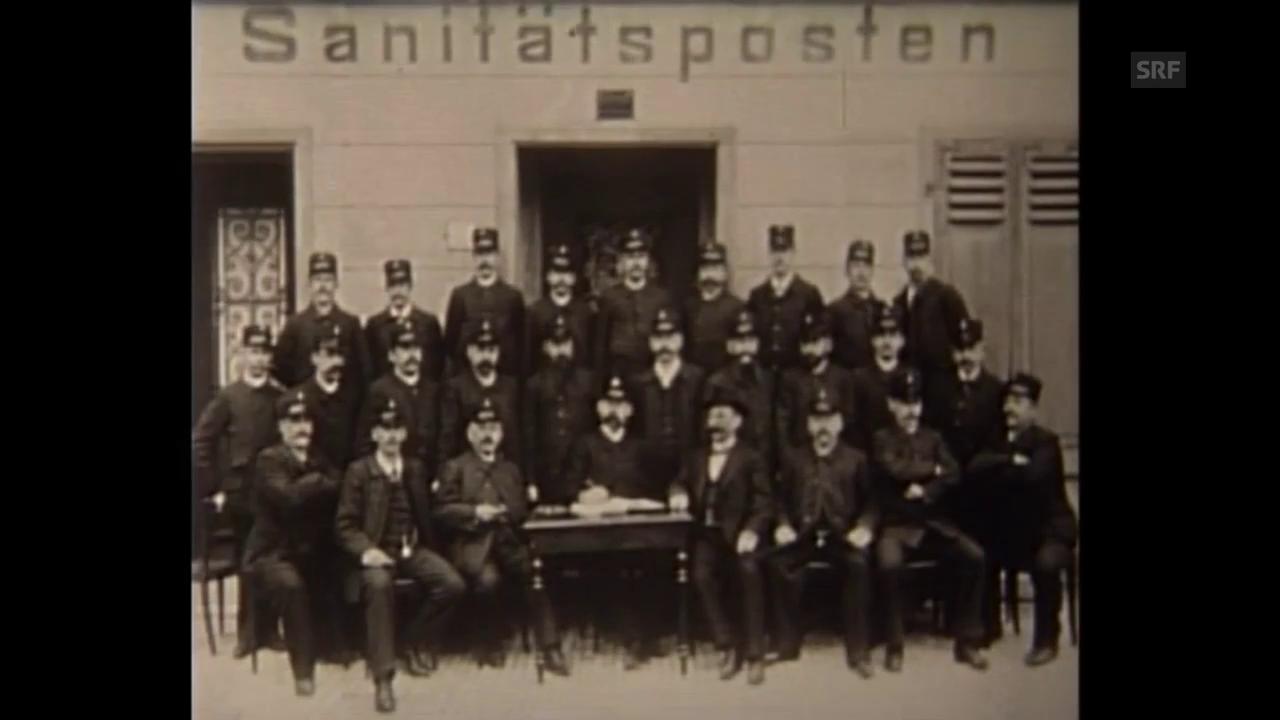 Ein Rücblick auf 125 Jahre Sanität in Zürich