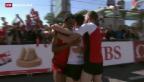 Video «Schweizer holen Bronze beim Marathon» abspielen