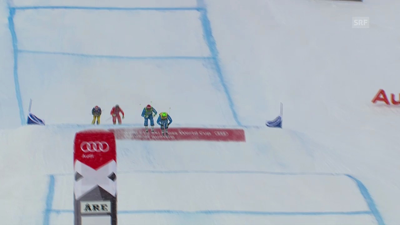 Skicross: Weltcup in Are, Final der Männer («sportlive», 16.03.2014)