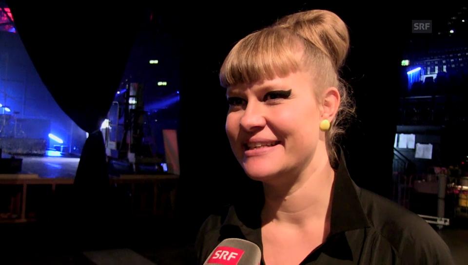 Nicole Bernegger über ihren Auftritt beim «SwissAward»