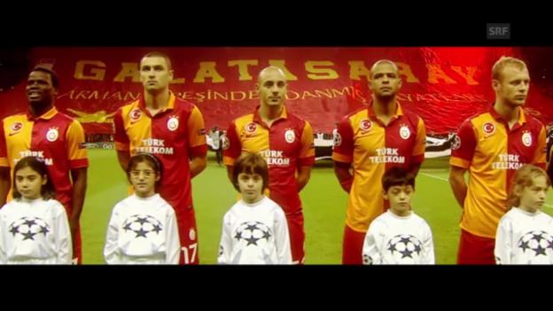 Video «Fussball: Galatasaray empfängt Schalke» abspielen