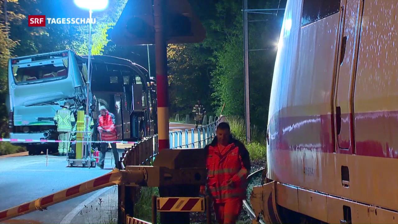 Bahnunglück in Interlaken