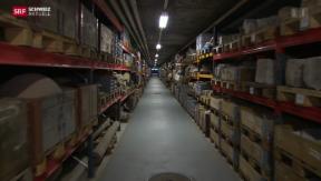 Video «Schatzkammer im alten Test-Atomkraftwerk in Lucens » abspielen