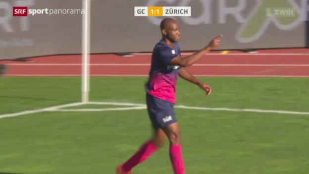 Video «Fussball: Super League, GC - Zürich» abspielen