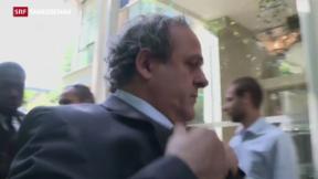 Video «Platini steht endgültig vor dem Aus» abspielen