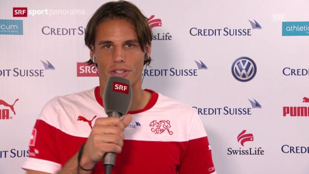 Video «Fussball: Torhüter Yann Sommer vor dem England-Spiel» abspielen