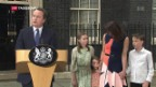 Video «Wechsel in Downing Street Nr. 10» abspielen