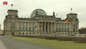 Video «Grosse Koalition streitet über den Fall Edathy» abspielen
