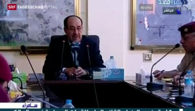 Video «Al-Maliki tritt zurück» abspielen