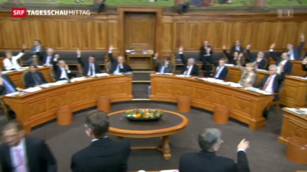 Video «Parlament will Wehrpflicht beibehalten» abspielen