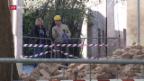 Video «Italien ein Tag nach dem Erdbeben» abspielen