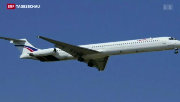 Video «Flugzeugabsturz im Norden Malis» abspielen