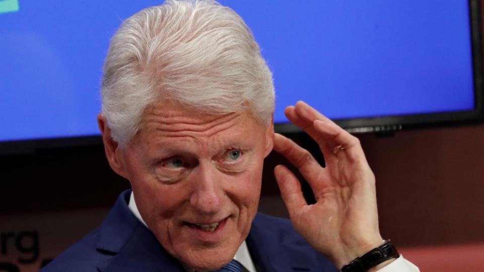 Ex-US-Präsident Bill Clinton im Spital