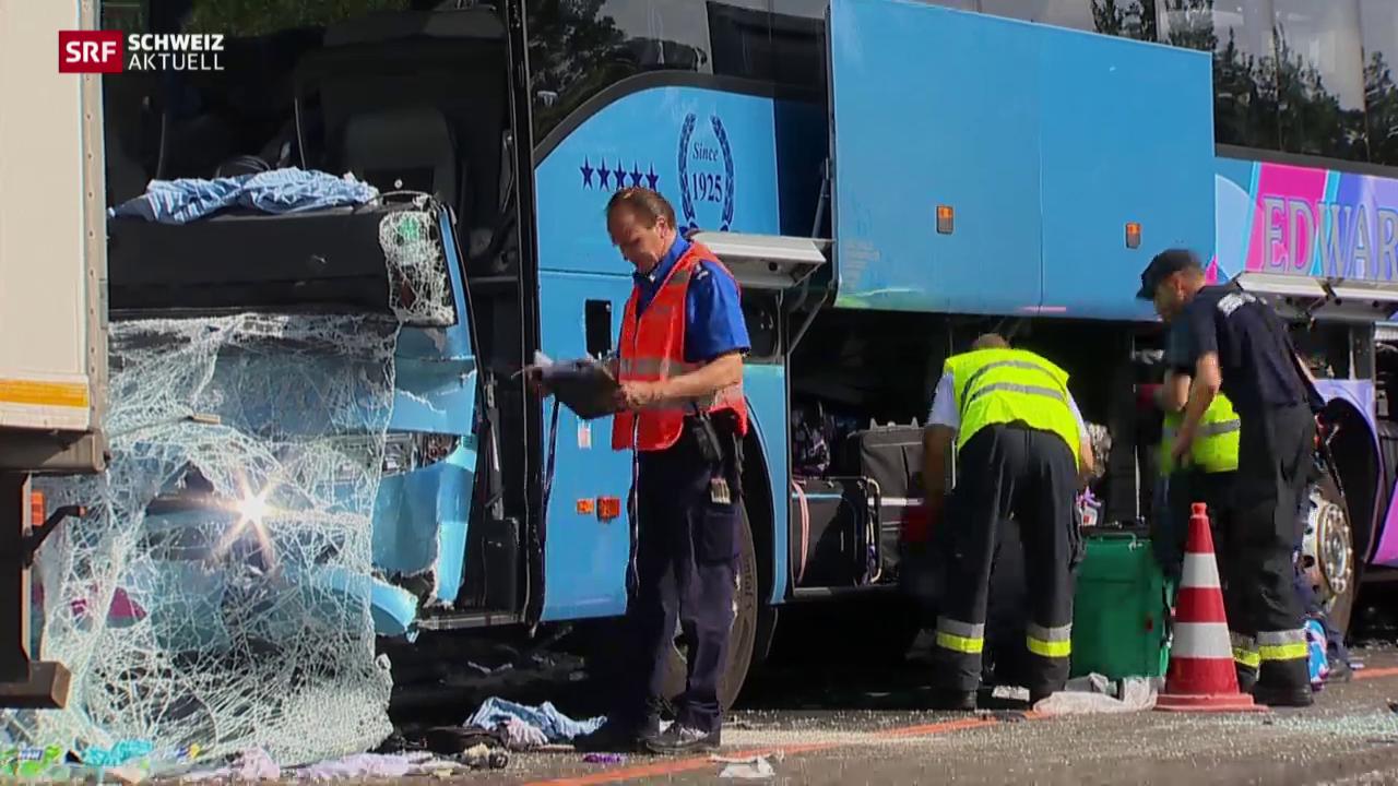 41 Verletzte bei Carunfall